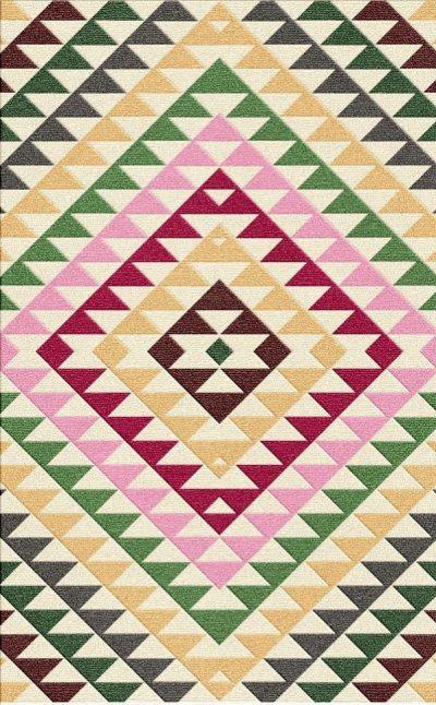 Buy Flatweave rugs and carpet online - C02(FW)(5-Contrast-1)