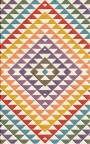 Buy Flatweave rugs and carpet online - C02(FW)(8x5 Ft)(Non-Palette) - 1st Actual Design