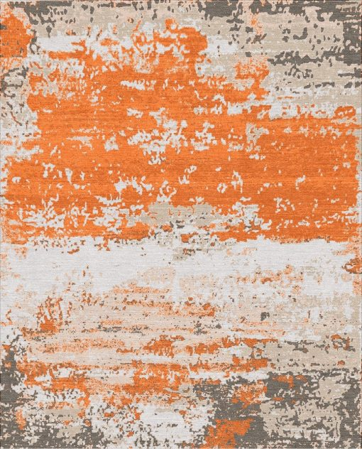 Buy Hand Knotted rugs and carpet online - C02(HK)(1-Warm-3)
