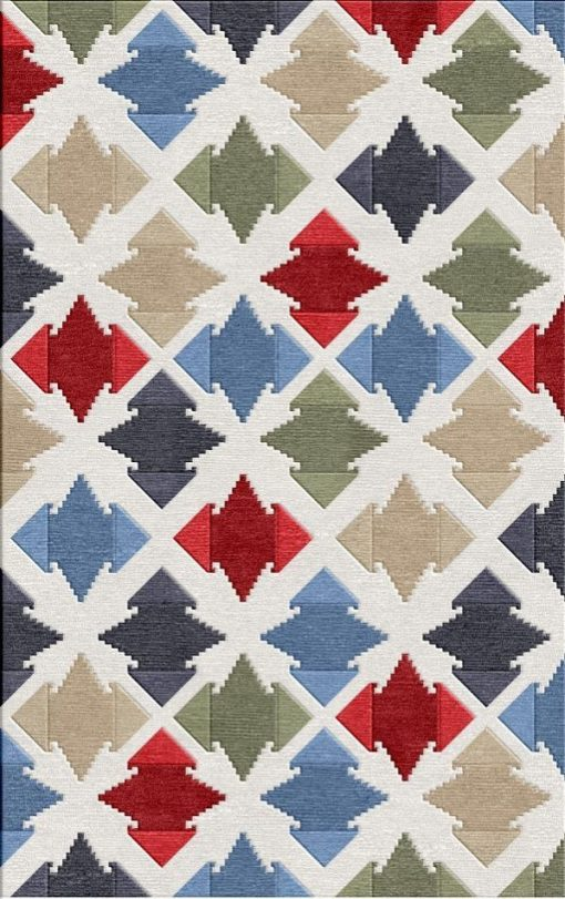 Buy Flatweave rugs and carpet online - C05(FW)(7x5 Ft)(Non-Palette) - 1st Actual Design