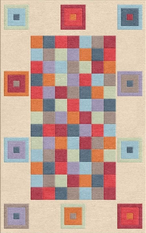 Buy Flatweave rugs and carpet online - C06(FW)(8x5 Ft)(Non-Palette) - 1st Actual Design