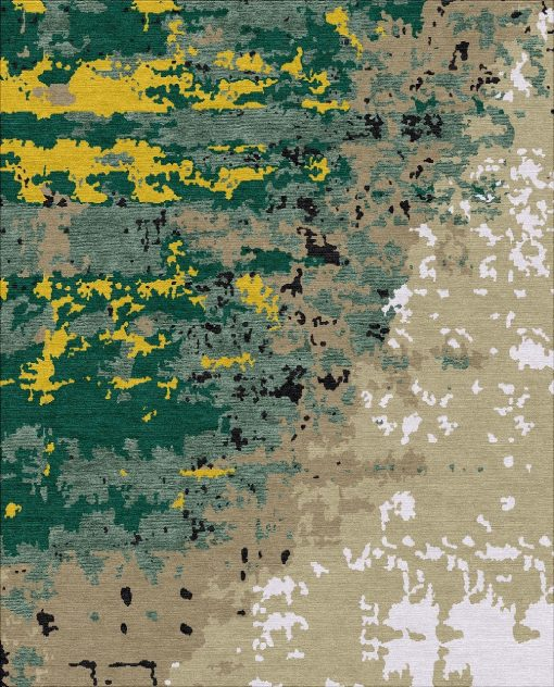 Buy Hand Knotted rugs and carpet online - C06(HK)(5-Contrast-4)