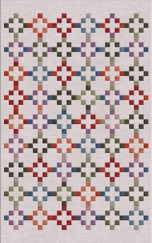 Buy Flatweave rugs and carpet online - C07(FW)(8x5 Ft)(Non-Palette) - 1st Actual Design