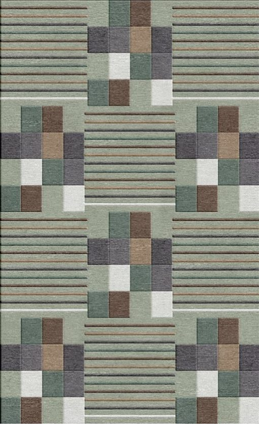 Buy Flatweave rugs and carpet online - C11(FW)(8x5 Ft)(Non-Palette) - 1st Actual Design