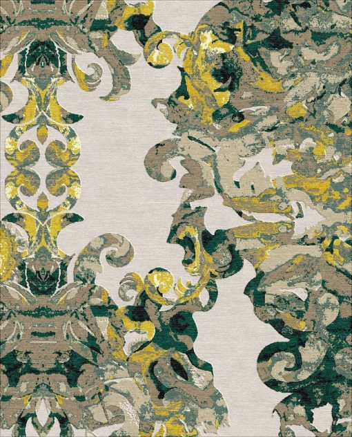 Buy Hand Knotted rugs and carpet online - C11(HK)(5-Contrast-4)