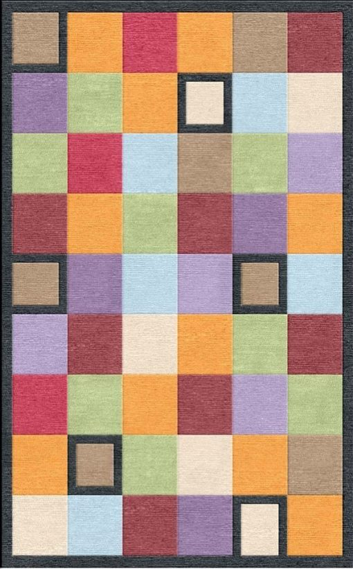 Buy Flatweave rugs and carpet online - C22(FW)(8x5 Ft)(Non-Palette) - 1st Actual Design