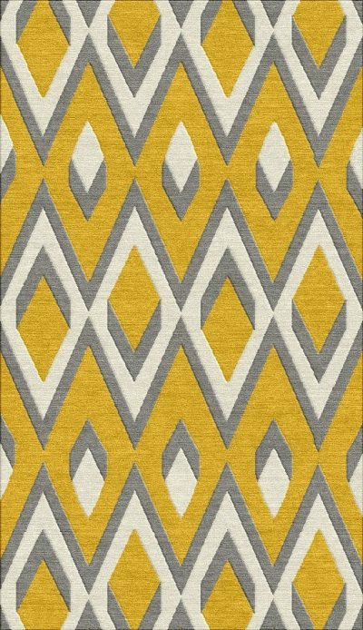 Buy Hand Knotted rugs and carpets online - Custom 057(HK)(8.6x5 Ft)(W) - Actual Design 1