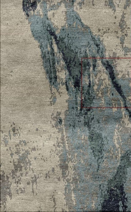 Buy Hand Tufted rugs and carpets online - Custom 089(HT)(8.6x5.4 Ft)(V) - Actual Design