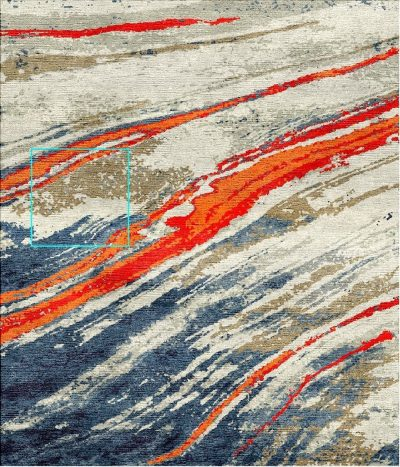 Buy Hand Tufted rugs and carpets online - Custom 090(HT)(9.8x7.8 Ft)(V) - Actual Design