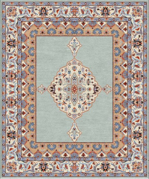 Buy Hand Tufted rugs and carpets online - Custom 146(HT)(12x10 Ft)(W) - Actual Design 1