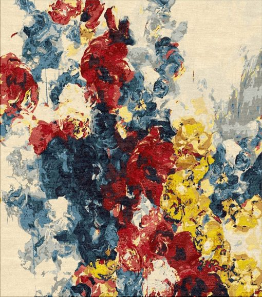 Buy Hand Knotted rugs and carpet online - F01(HK)(5-Contrast-1)-Option 1