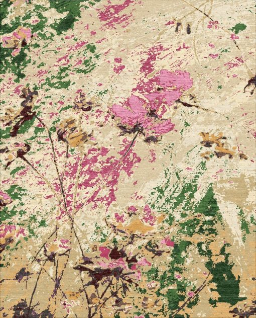 Buy Hand Knotted rugs and carpet online - F04(HK)(5-Contrast-1)