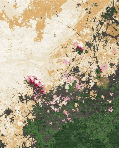 Buy Hand Knotted rugs and carpet online - F05(HK)(5-Contrast-1)