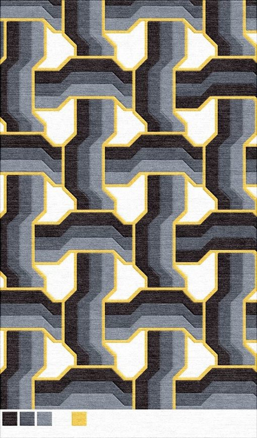 Buy Hand Tufted rugs and carpet online - G02(HT)(5-Contrast-3)