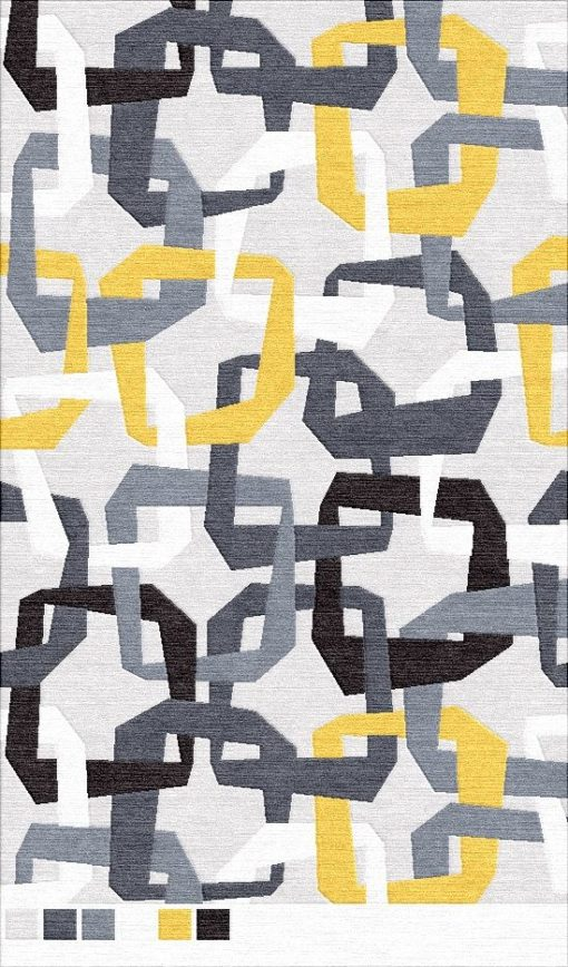 Buy Hand Tufted rugs and carpet online - G03(HT)(5-Contrast-3)