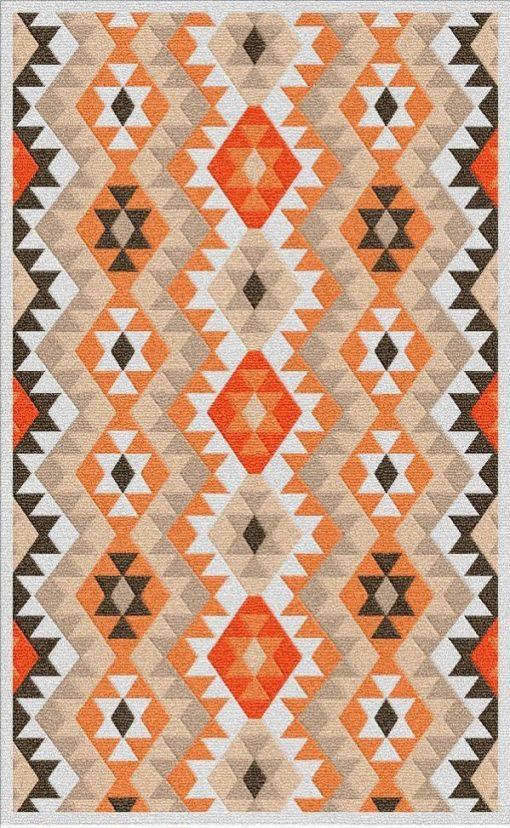 Buy Flatweave rugs and carpet online - K01(FW)(1-Warm-3)