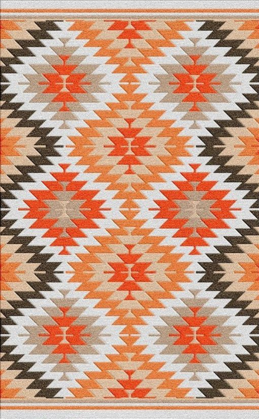 Buy Flatweave rugs and carpet online - K02(FW)(1-Warm-3)