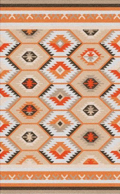 Buy Flatweave rugs and carpet online - K03(FW)(1-Warm-3)