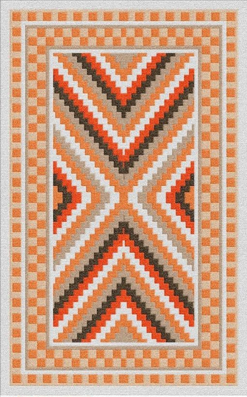 Buy Flatweave rugs and carpet online - K04(FW)(1-Warm-3)