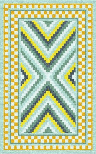 Buy Flatweave rugs and carpet online - K04(FW)(2-Cool-3)