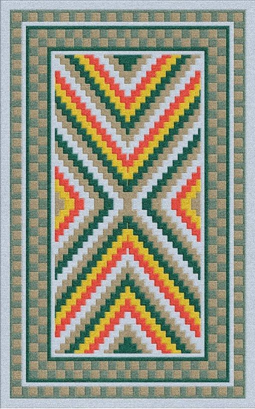 Buy Flatweave rugs and carpet online - K04(FW)(5-Contrast-4)