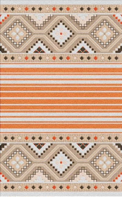 Buy Flatweave rugs and carpet online - K05(FW)(1-Warm-3)
