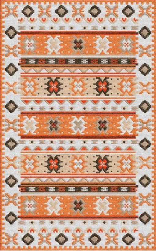 Buy Flatweave rugs and carpet online - K06(FW)(1-Warm-3)