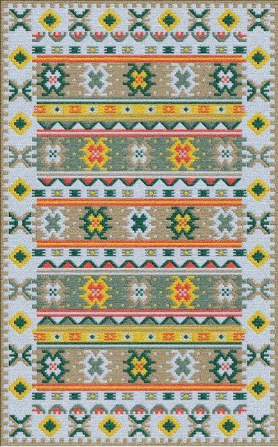 Buy Flatweave rugs and carpet online - K06(FW)(5-Contrast-4)