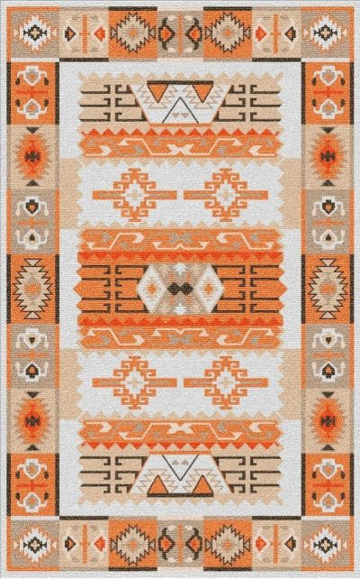 Buy Flatweave rugs and carpet online - K07(FW)(1-Warm-3)