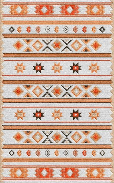 Buy Flatweave rugs and carpet online - K09(FW)(1-Warm-3)