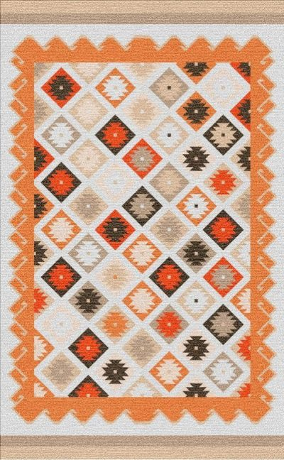 Buy Flatweave rugs and carpet online - K10(FW)(1-Warm-3)