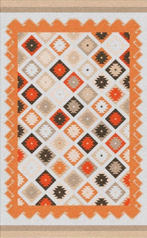 Buy Flatweave rugs and carpet online - K10(FW)(1-Warm-3)