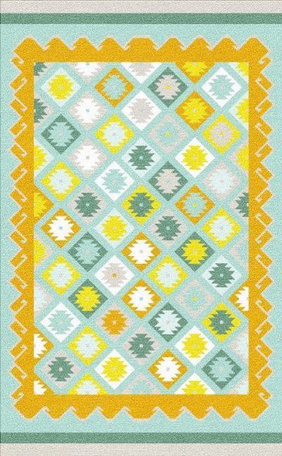 Buy Flatweave rugs and carpet online - K10(FW)(2-Cool-3)