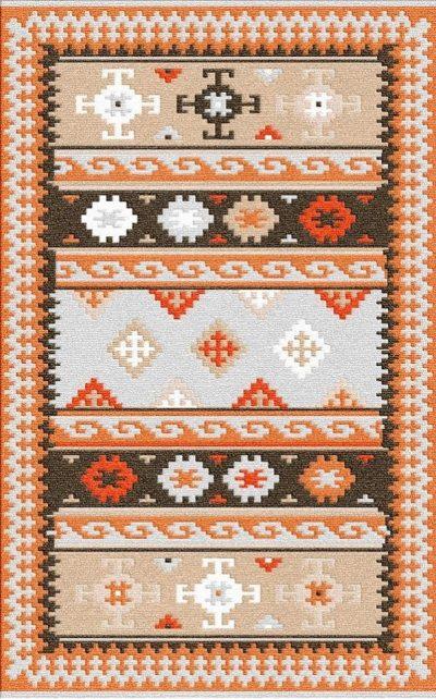 Buy Flatweave rugs and carpet online - K11(FW)(1-Warm-3)