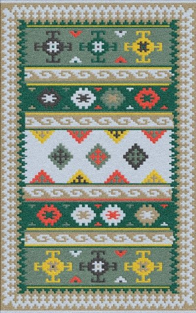 Buy Flatweave rugs and carpet online - K11(FW)(5-Contrast-4)