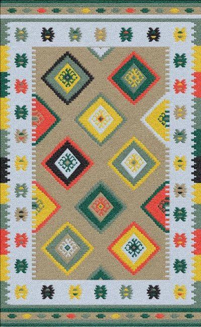 Buy Flatweave rugs and carpet online - K12(FW)(5-Contrast-4)