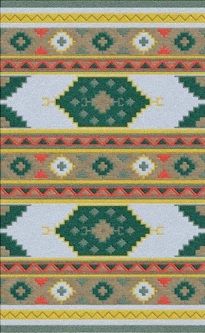 Buy Flatweave rugs and carpet online - K13(FW)(5-Contrast-4)