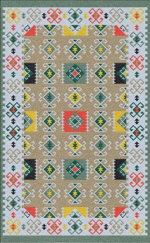 Buy Flatweave rugs and carpet online - K14(FW)(5-Contrast-4)