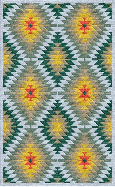 Buy Flatweave rugs and carpet online - K15(FW)(5-Contrast-4)