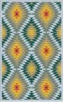 Buy Flatweave rugs and carpet online - K15(FW)(5-Contrast-4)