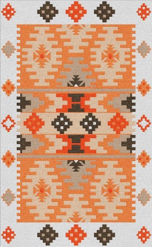 Buy Flatweave rugs and carpet online - K16(FW)(1-Warm-3)