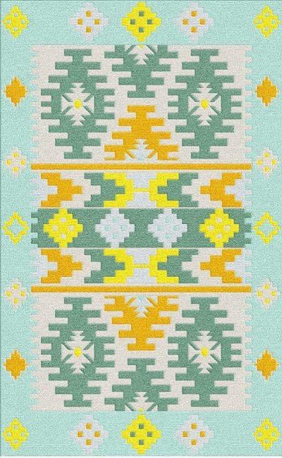 Buy Flatweave rugs and carpet online - K16(FW)(2-Cool-3)