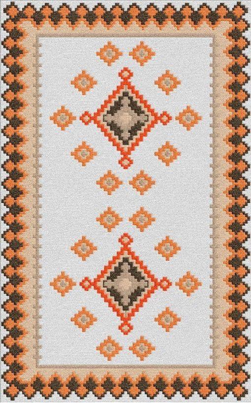 Buy Flatweave rugs and carpet online - K17(FW)(1-Warm-3)