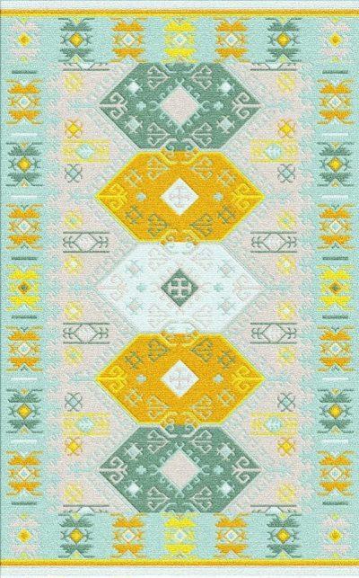 Buy Flatweave rugs and carpet online - K19(FW)(2-Cool-3)