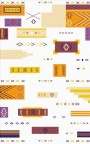 Buy Flatweave rugs and carpet online - M04(FW)(5-Contrast-2)