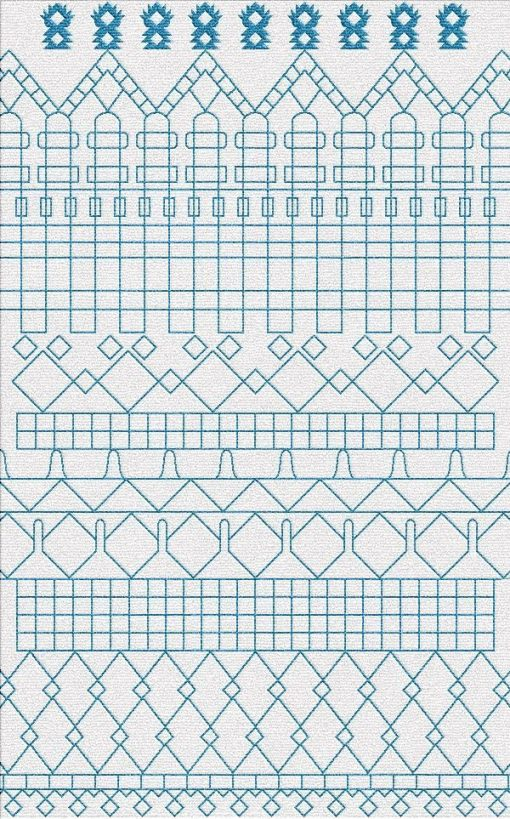 Buy Flatweave rugs and carpet online - M08(FW)(2-Cool-1)