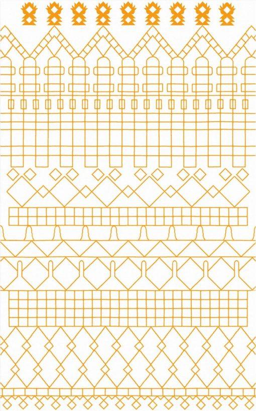 Buy Flatweave rugs and carpet online - M08(FW)(5-Contrast-2)