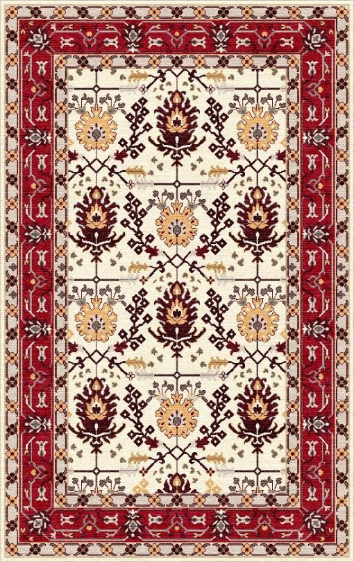 Buy Hand Tufted rugs and carpet online - P01(HT)(1-Warm-2)