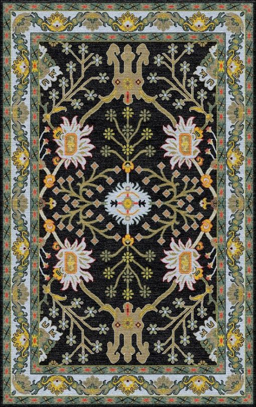 Buy Hand Tufted rugs and carpet online - P02(HT)(5-Contrast-1)