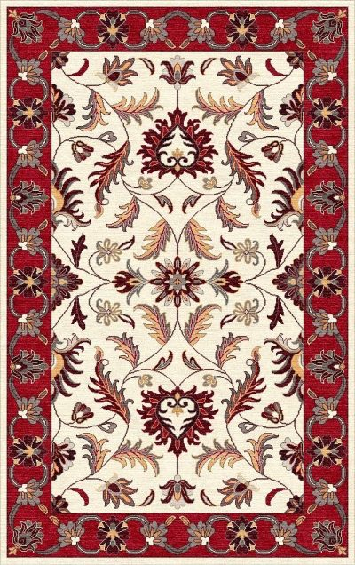 Buy Hand Tufted rugs and carpet online - P04(HT)(1-Warm-2)